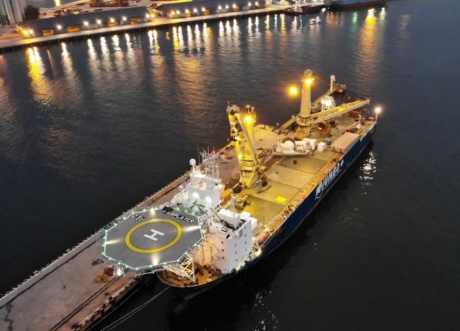 Jumbo picks up North Sea decommissioning job from TAQA